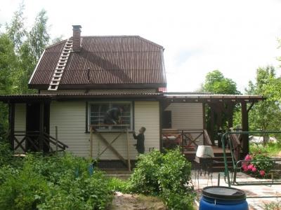 Пристройка двух жилых помещений и террасы под ключ