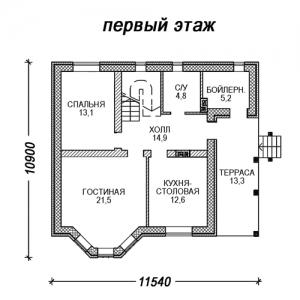 Кирпичный  КП 1-139