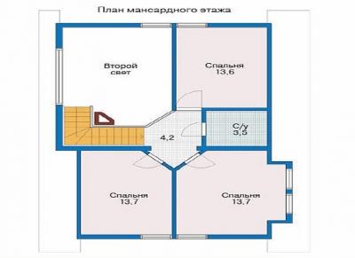 ДОМ ИЗ БРЕВНА БР 2-199