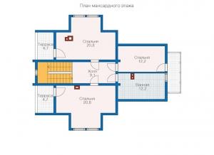 ДОМ ИЗ БРЕВНА  БР 2-193