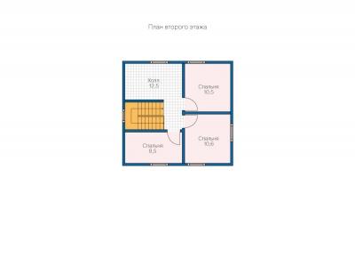 Каркасные дома  БС 2-120