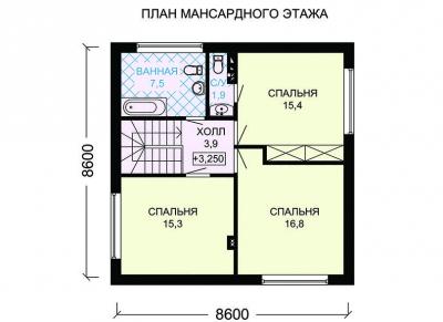 Пеноблочный  ПБ 2-123