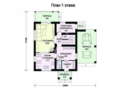 Пеноблочный  ПБ 2-136