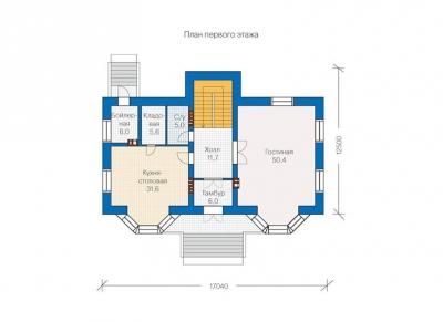 Кирпичный  КП 5-350