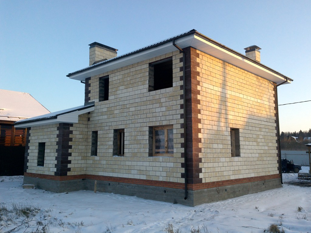 Строительство домов из керамзитобетона своими руками
